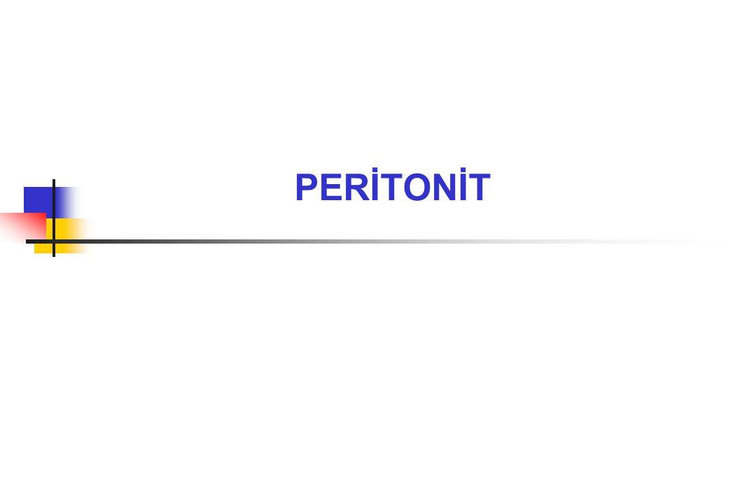 PERİTONİT