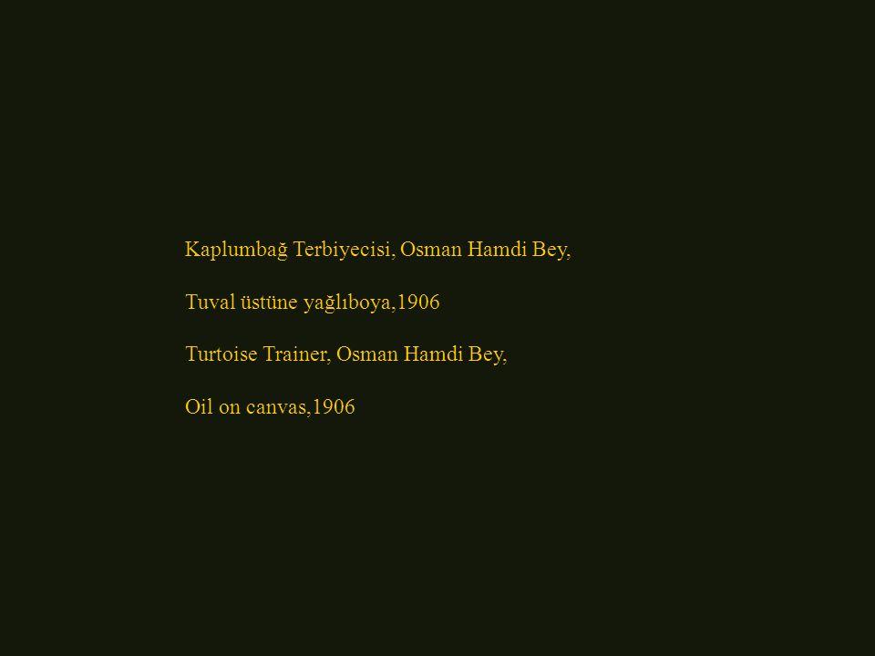Kaplumbağ Terbiyecisi, Osman Hamdi Bey,