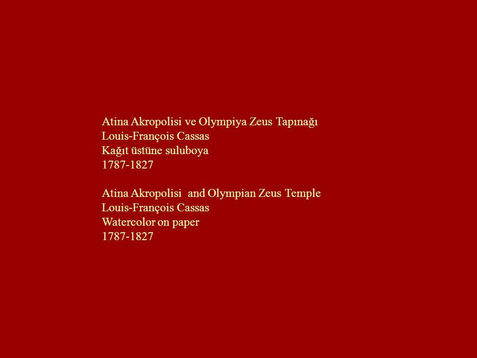 Atina Akropolisi ve Olympiya Zeus Tapınağı