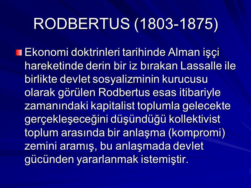 RODBERTUS (1803-1875)