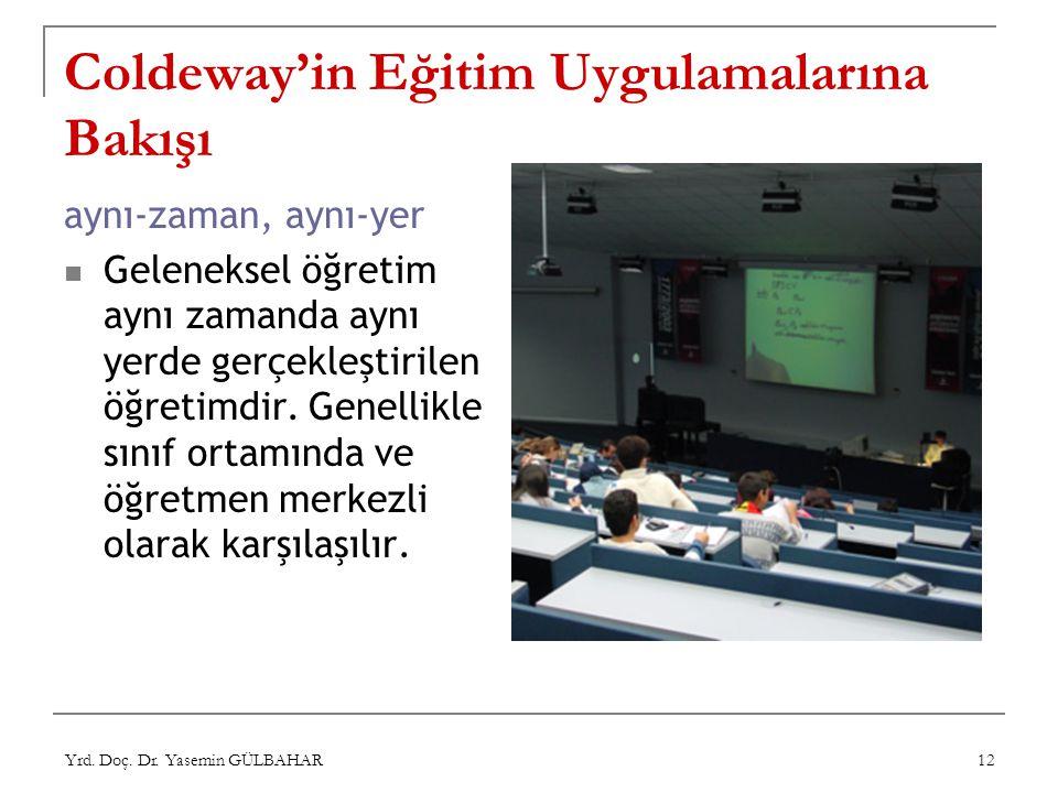 Coldeway'in Eğitim Uygulamalarına Bakışı