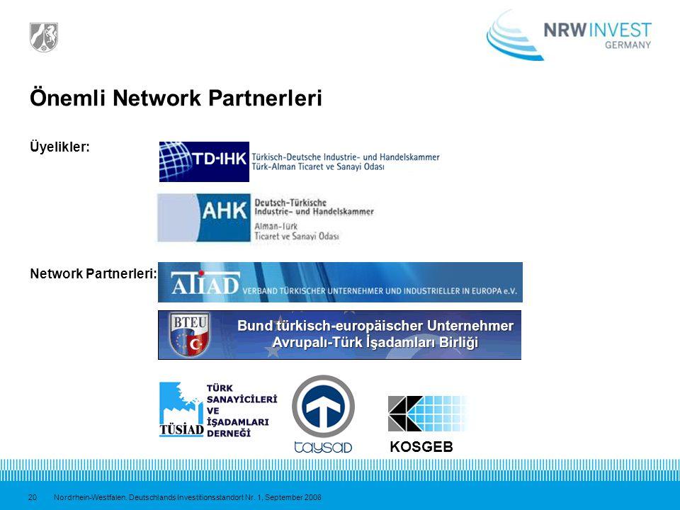Önemli Network Partnerleri