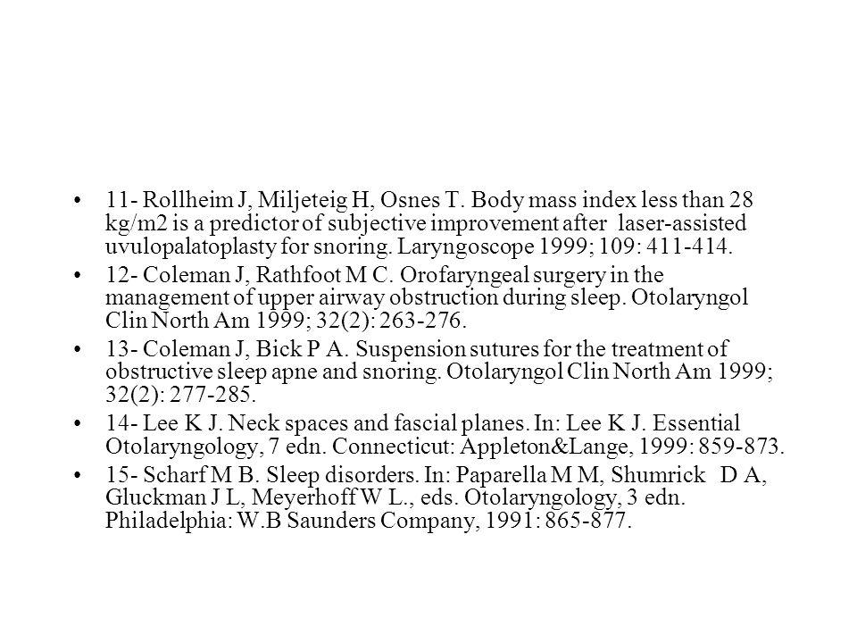 11- Rollheim J, Miljeteig H, Osnes T