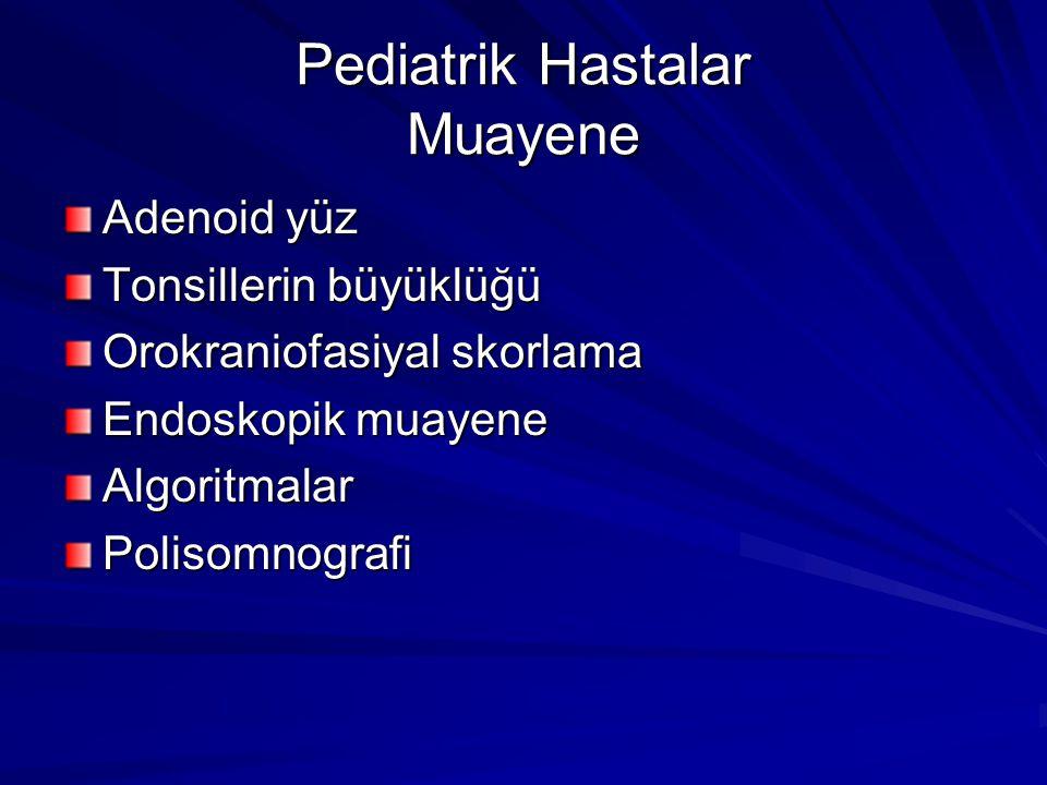Pediatrik Hastalar Muayene