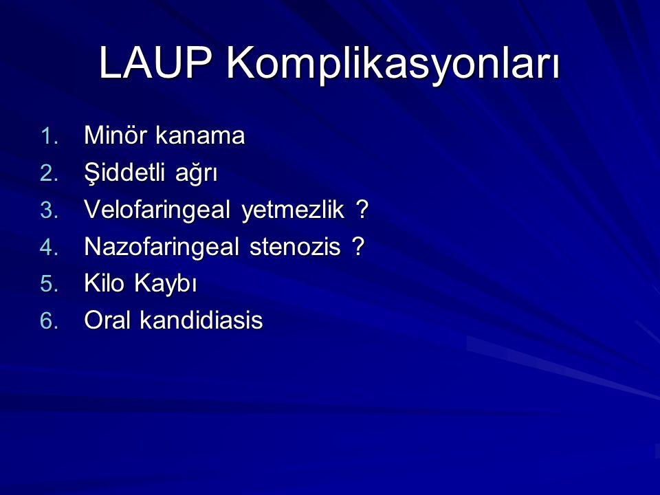 LAUP Komplikasyonları