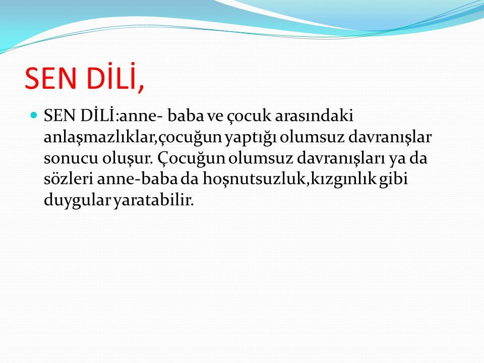 SEN DİLİ,