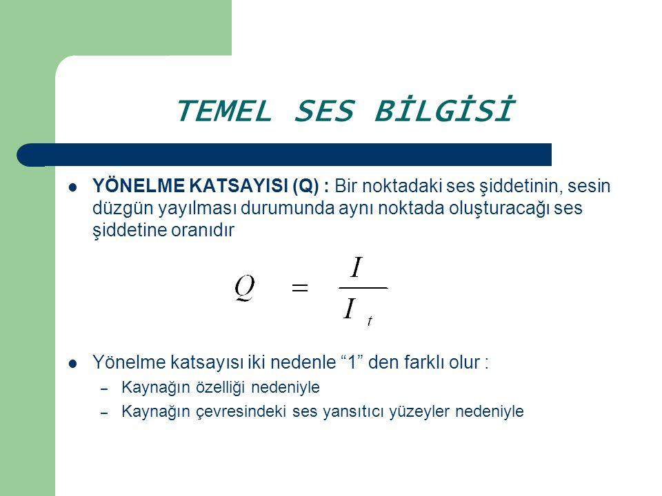 TEMEL SES BİLGİSİ