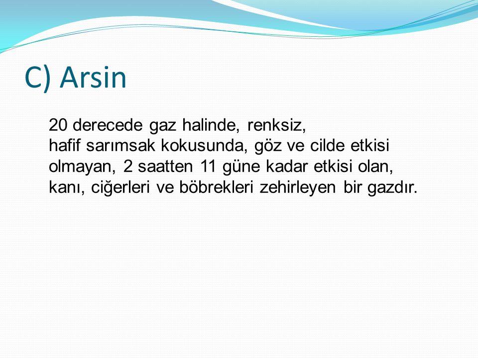 C) Arsin