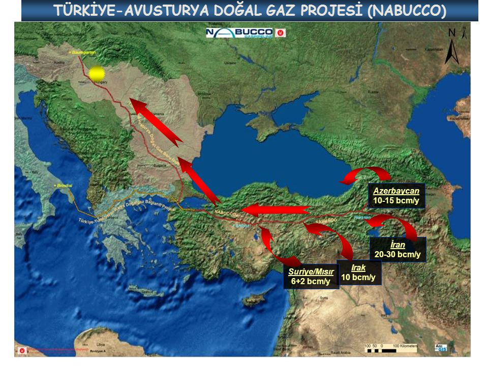 TÜRKİYE-AVUSTURYA DOĞAL GAZ PROJESİ (NABUCCO)
