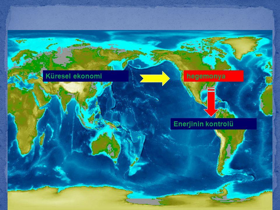 Küresel ekonomi hegemonya Enerjinin kontrolü