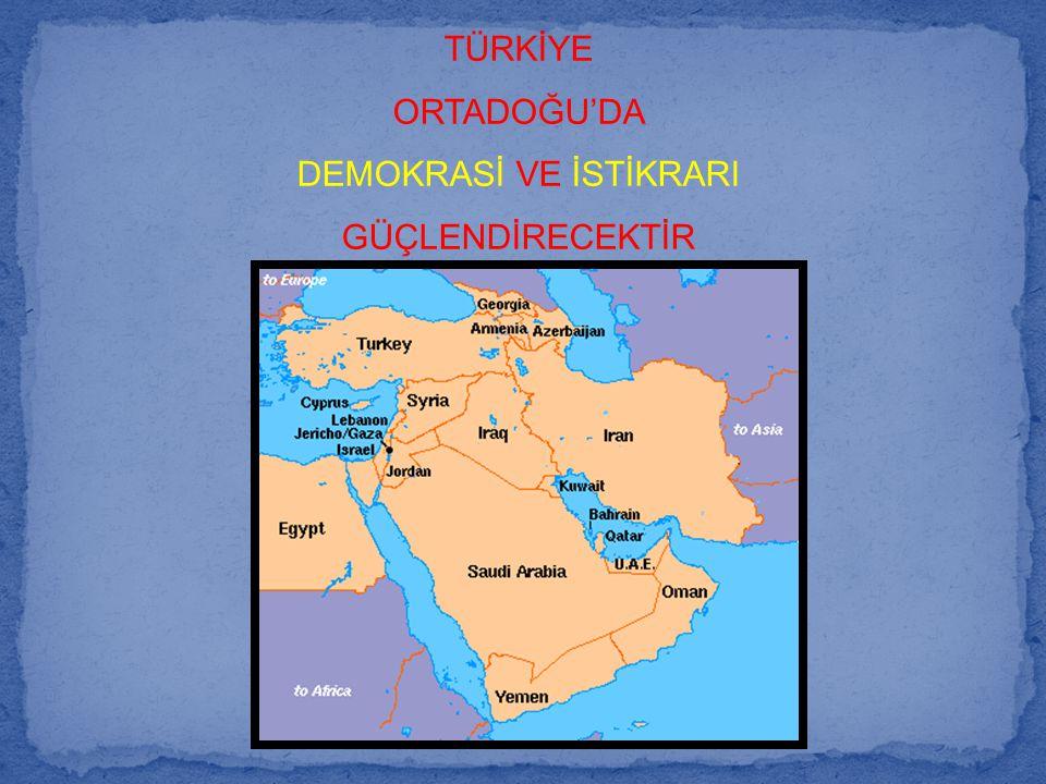 DEMOKRASİ VE İSTİKRARI