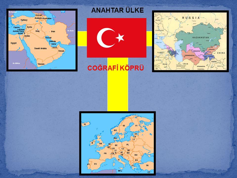 ANAHTAR ÜLKE COĞRAFİ KÖPRÜ