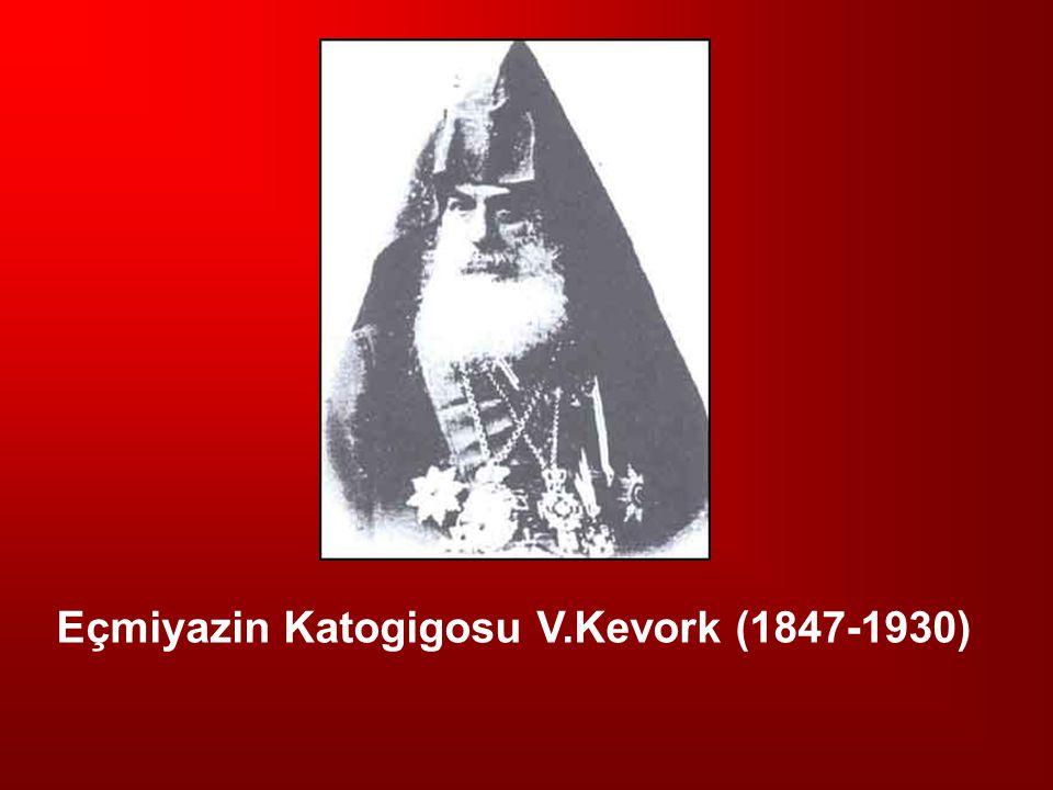 Eçmiyazin Katogigosu V.Kevork (1847-1930)