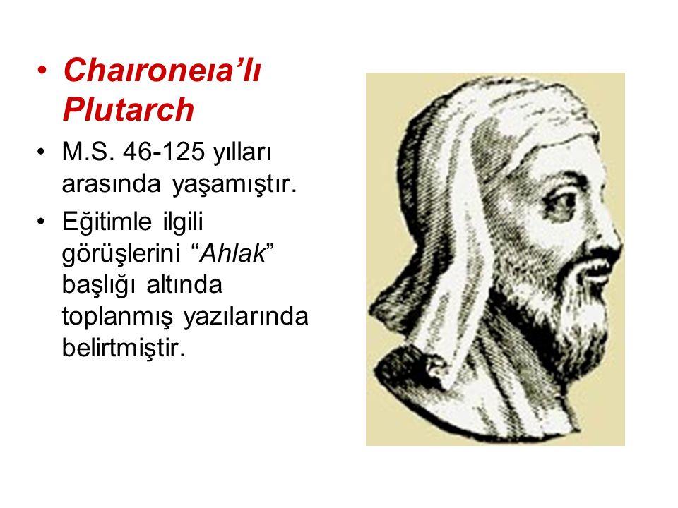 Chaıroneıa'lı Plutarch