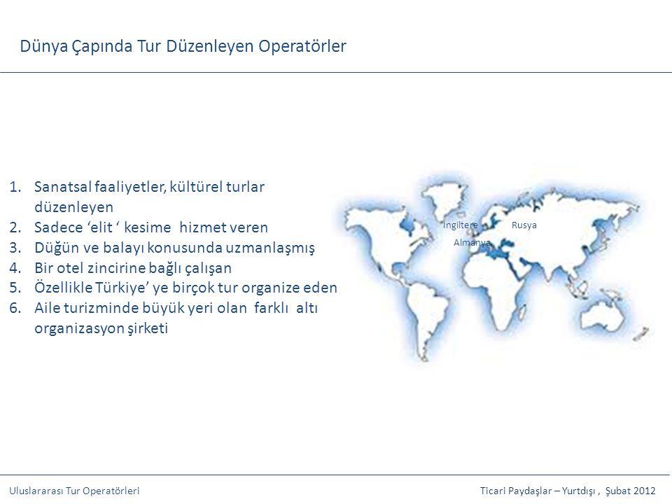 Dünya Çapında Tur Düzenleyen Operatörler