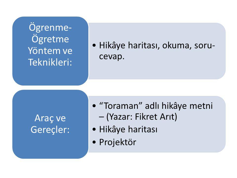 Ögrenme-Ögretme Yöntem ve Teknikleri: