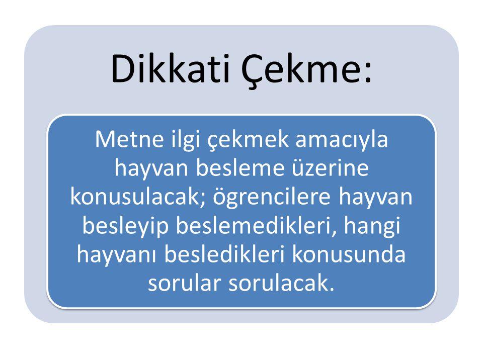 Dikkati Çekme: