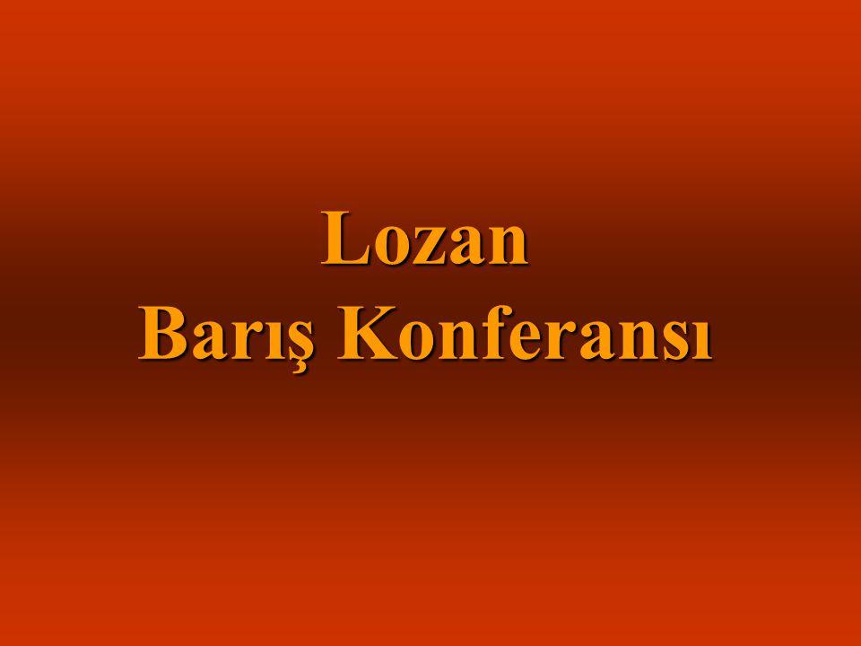 Lozan Barış Konferansı