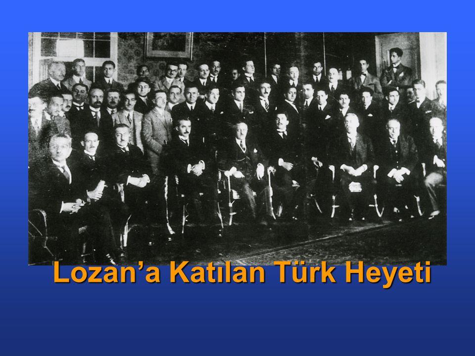 Lozan'a Katılan Türk Heyeti