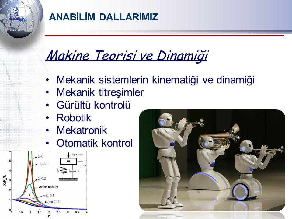 Makine Teorisi ve Dinamiği