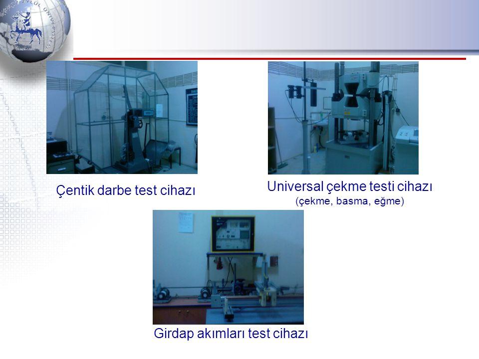 Universal çekme testi cihazı