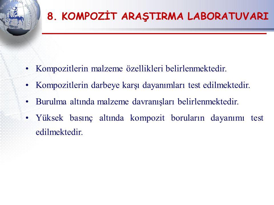 8. KOMPOZİT ARAŞTIRMA LABORATUVARI