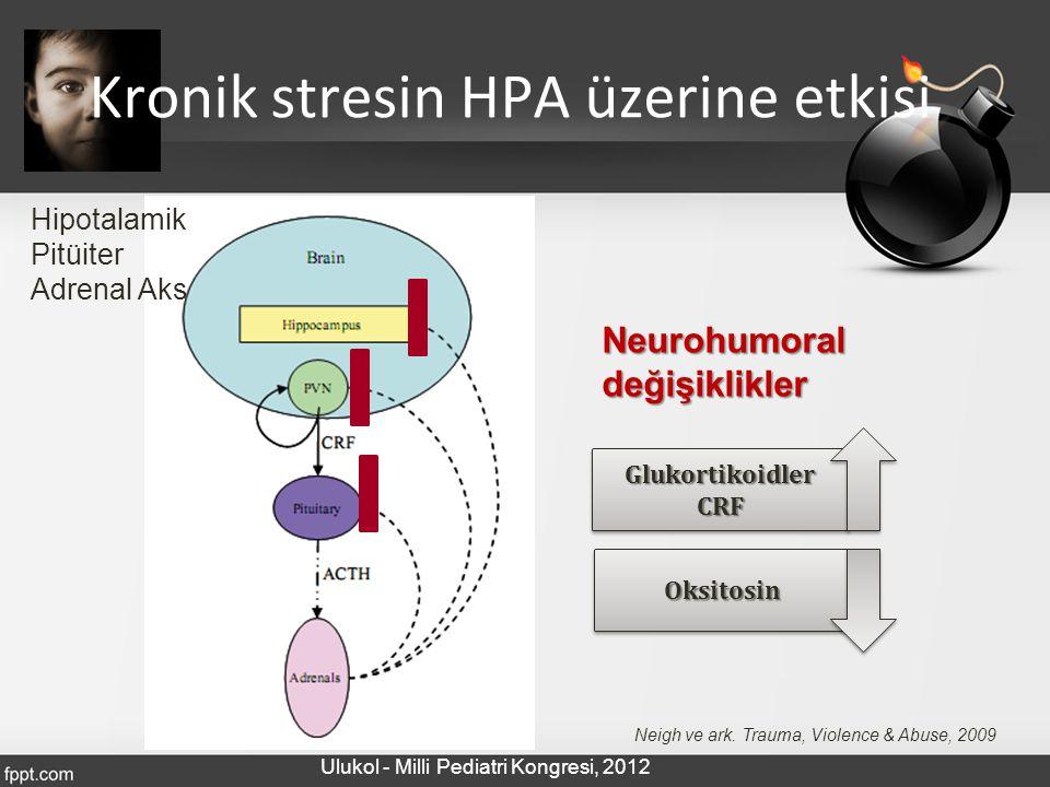Kronik stresin HPA üzerine etkisi