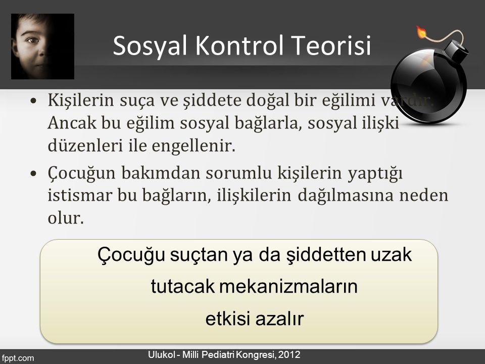 Sosyal Kontrol Teorisi