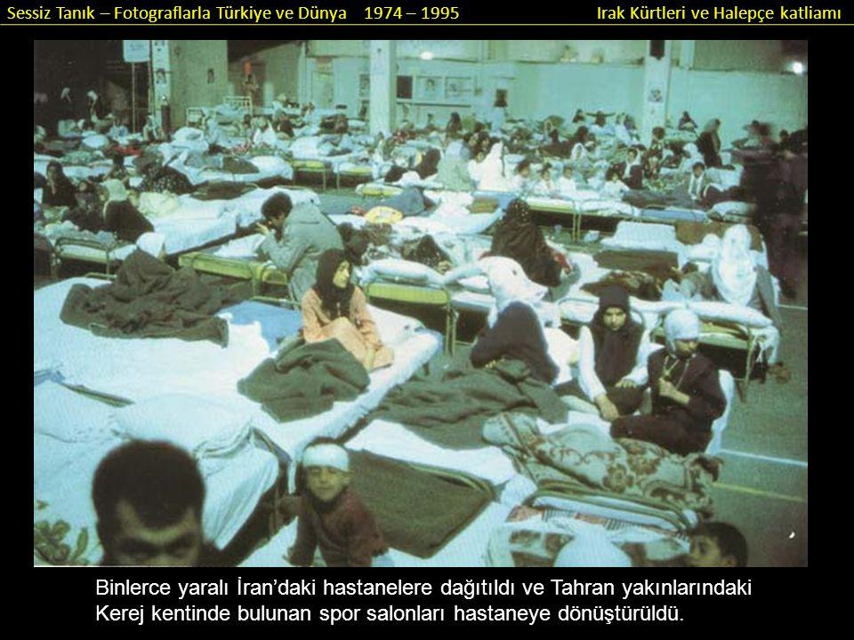 Binlerce yaralı İran'daki hastanelere dağıtıldı ve Tahran yakınlarındaki