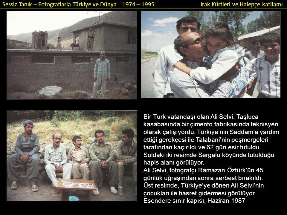 Bir Türk vatandaşı olan Ali Selvi, Taşluca