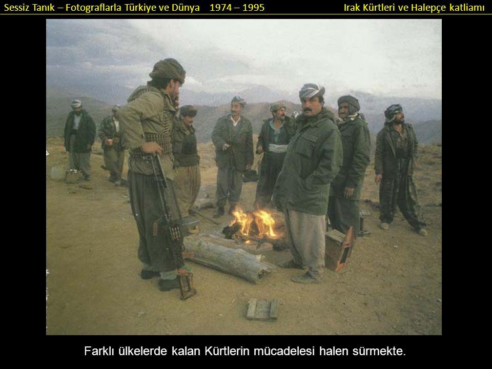 Farklı ülkelerde kalan Kürtlerin mücadelesi halen sürmekte.