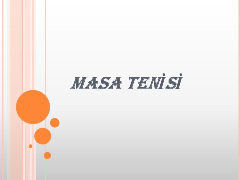 MASA TENİSİ