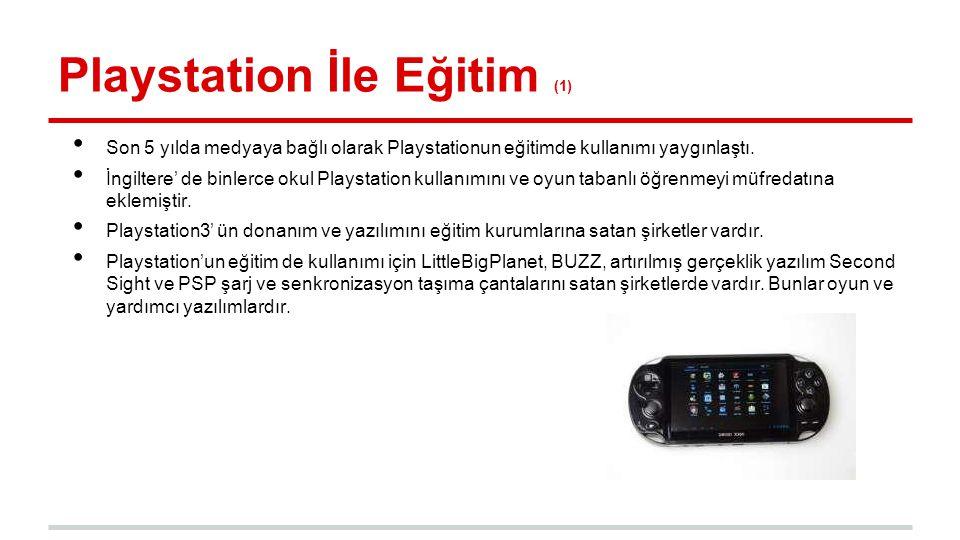 Playstation İle Eğitim (1)