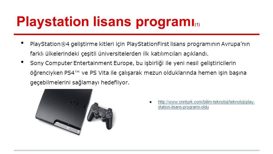 Playstation lisans programı(1)