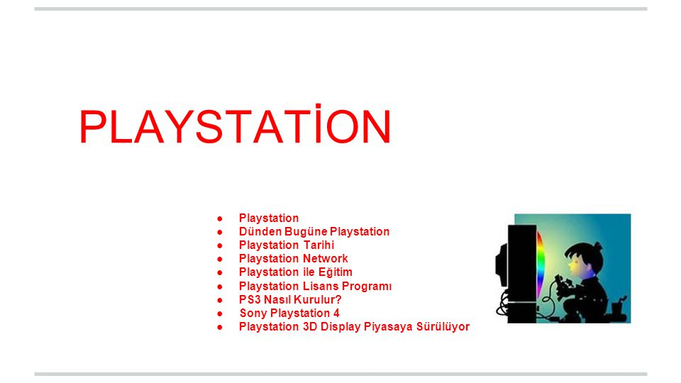PLAYSTATİON Playstation Dünden Bugüne Playstation Playstation Tarihi