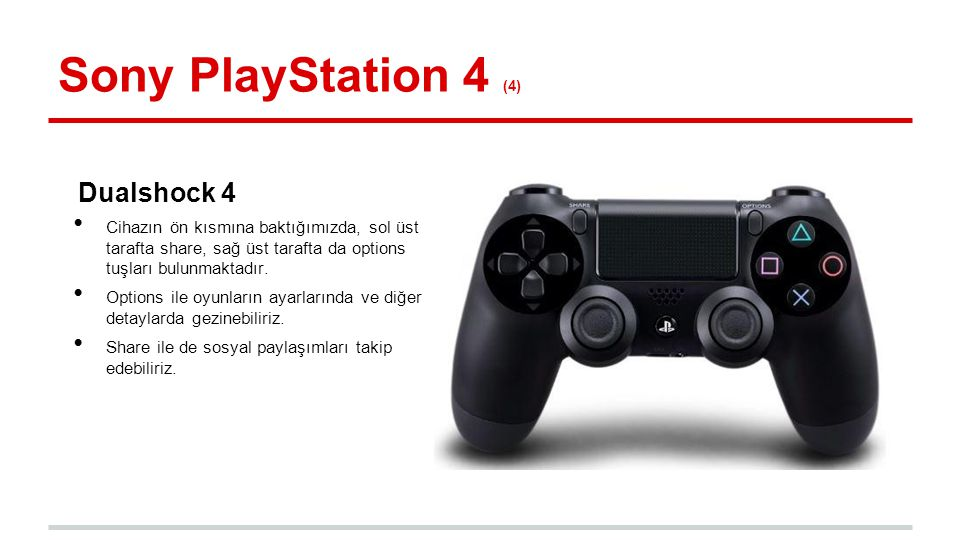 Sony PlayStation 4 (4) Dualshock 4