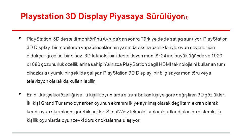 Playstation 3D Display Piyasaya Sürülüyor(1)