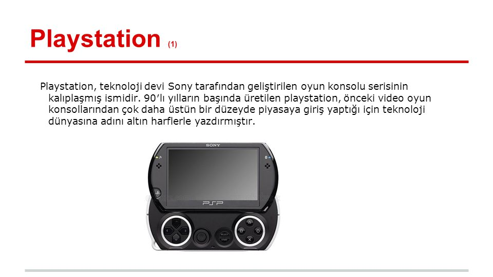 Playstation (1)