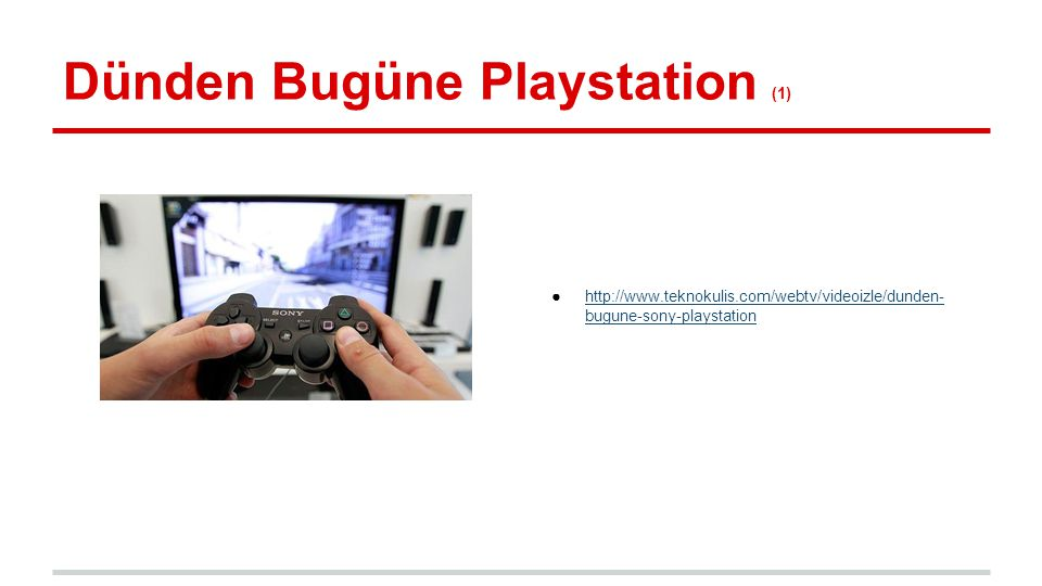 Dünden Bugüne Playstation (1)
