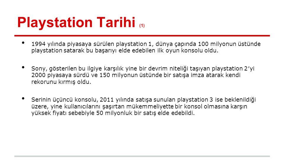 Playstation Tarihi (1)