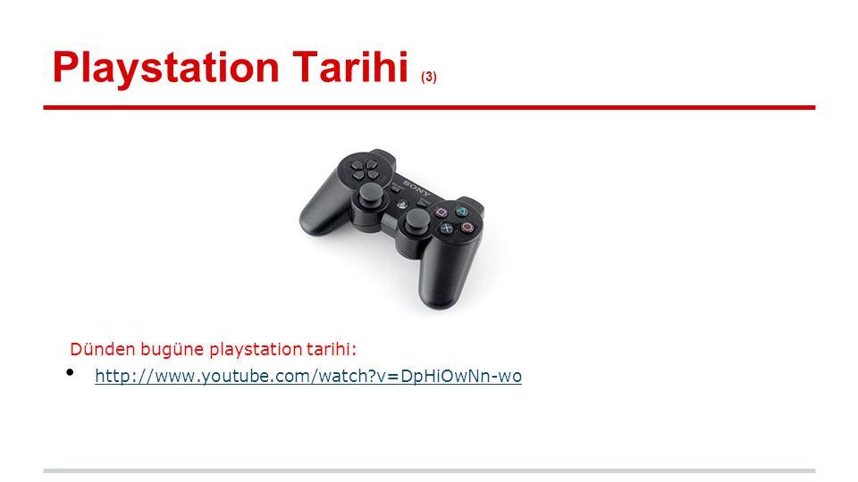 Playstation Tarihi (3) Dünden bugüne playstation tarihi: