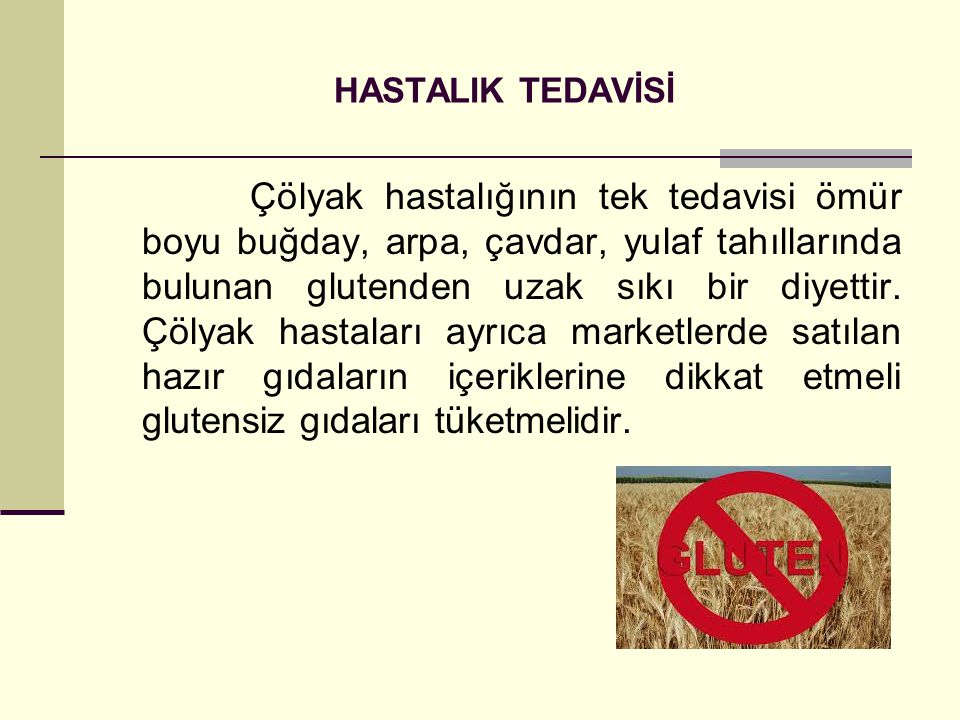HASTALIK TEDAVİSİ