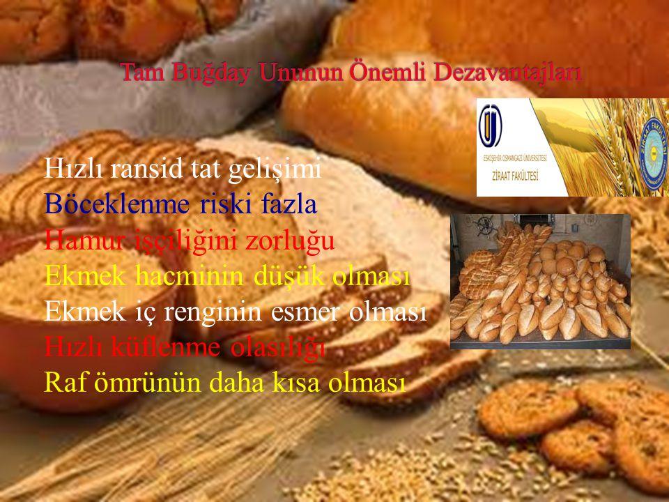 Tam Buğday Ununun Önemli Dezavantajları