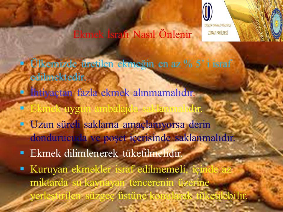 Ekmek İsrafı Nasıl Önlenir