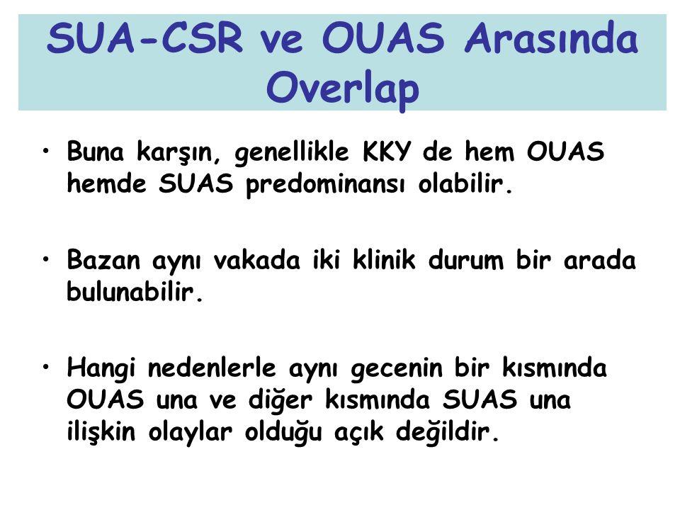 SUA-CSR ve OUAS Arasında Overlap