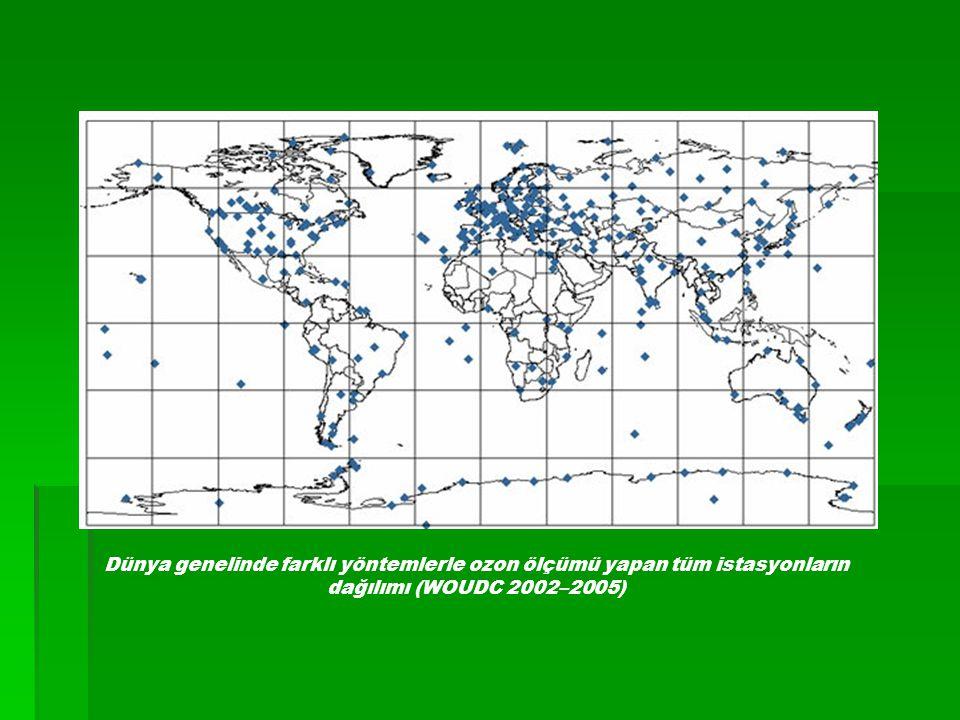 Dünya genelinde farklı yöntemlerle ozon ölçümü yapan tüm istasyonların dağılımı (WOUDC 2002–2005) Dünya genelinde farklı yöntemlerle ozon ölçümü yapan tüm istasyonların dağılımı (WOUDC 2002–2005) Dünya genelinde farklı yöntemlerle ozon ölçümü yapan tüm istasyonların dağılımı (WOUDC 2002–2005) Dünya genelinde farklı yöntemlerle ozon ölçümü yapan tüm istasyonların dağılımı (WOUDC 2002–2005)