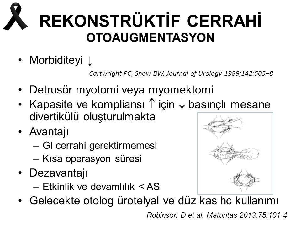 REKONSTRÜKTİF CERRAHİ OTOAUGMENTASYON
