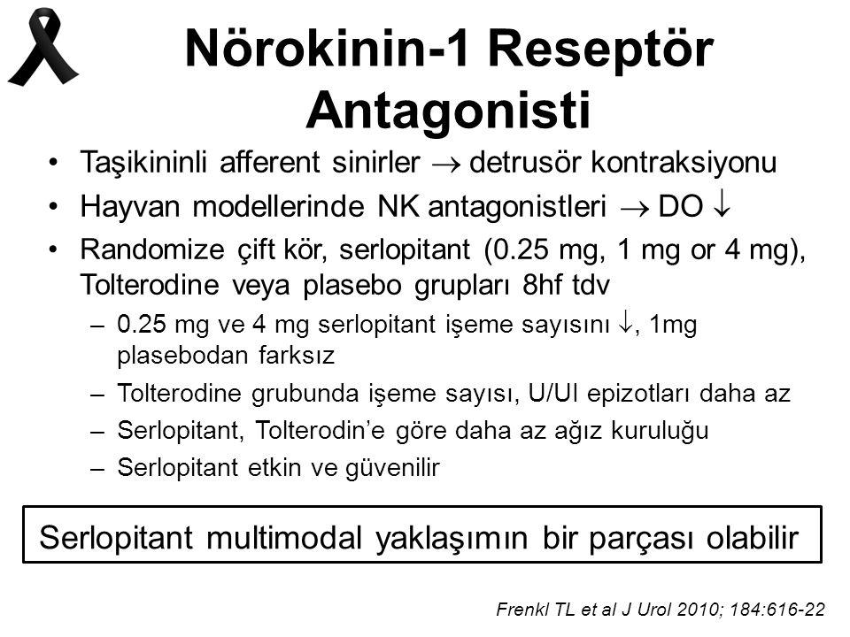 Nörokinin-1 Reseptör Antagonisti