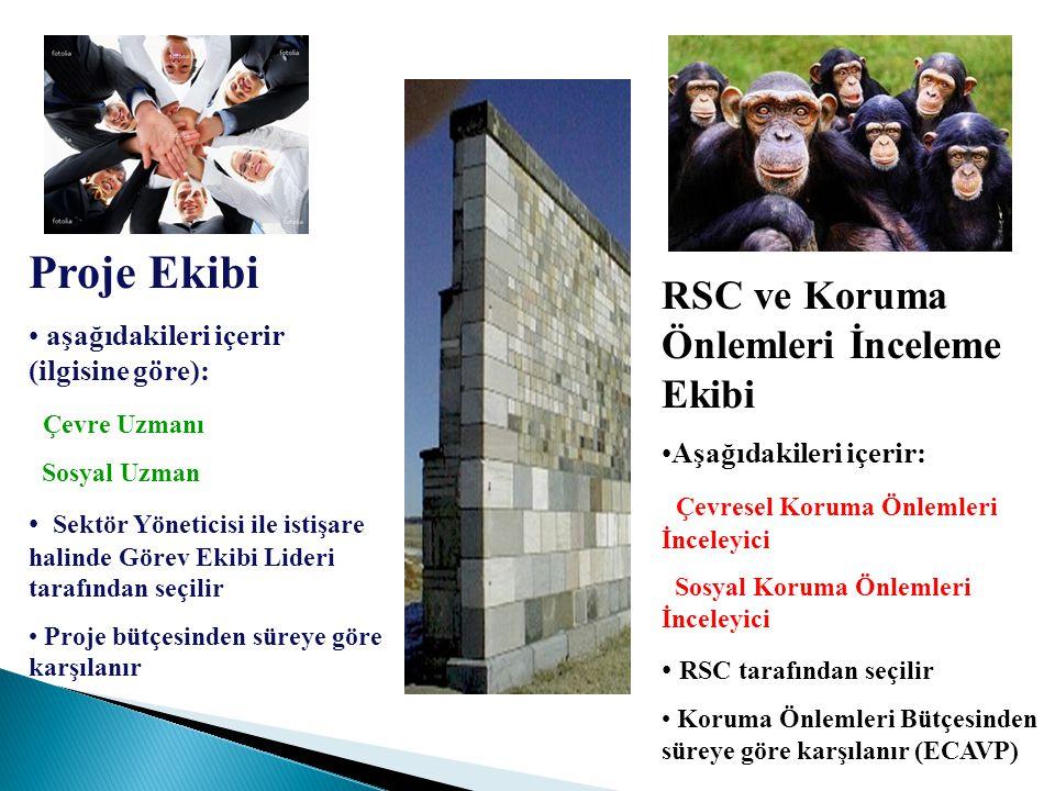 Proje Ekibi RSC ve Koruma Önlemleri İnceleme Ekibi