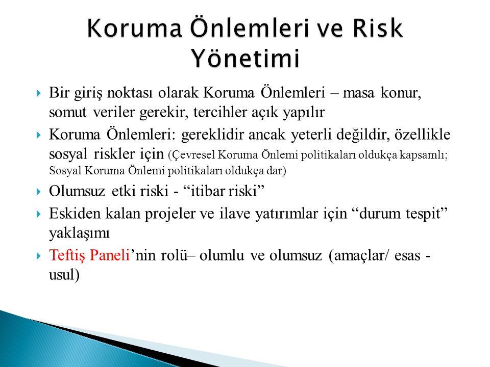 Koruma Önlemleri ve Risk Yönetimi